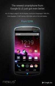 La Sortie Du Google Nexus 5