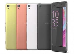 Les Sony Xperia Xa Et Xperia X Recoivent Une Nouvelle Mise A Jour