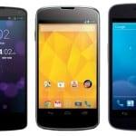 le Nexus 5 vs le Samsung Galaxy S5